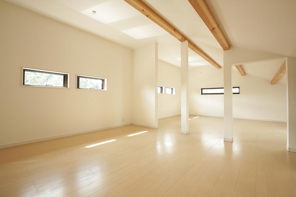 広々とした屋根裏部屋。